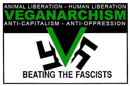 Veganarchism - Beating the Fascists